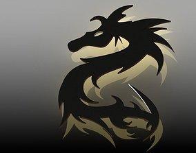 Dragon emblem 3D