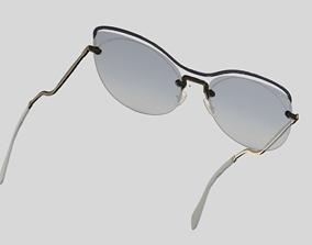 3D model miumiu sunglasses