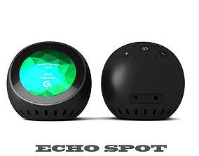 Echo Spot 3D model