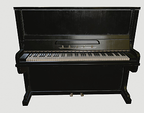 Piano 3D model realtime