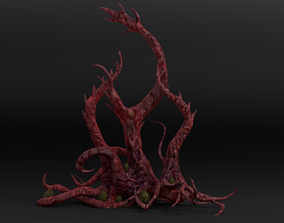 Tentacle Tree Pack 3D asset