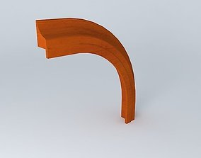 3D model Crowning curved strip