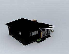 3D Retro House