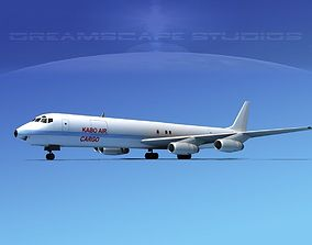 Douglas DC-8-63F Kabo Air Cargo 3D