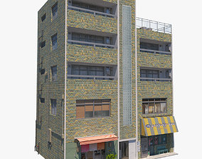 3D asset Nagasaki Building