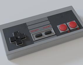 NES Controller 3D model gamepad
