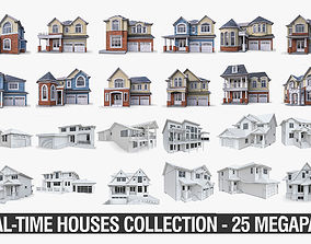 3D asset Private Houses Collection - 25 Megapack