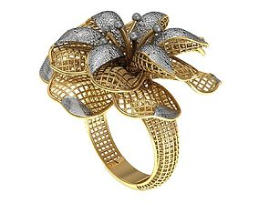 3D printable model ring 1