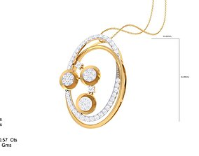 3D printable model Italian pendant set pendant with
