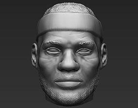 Lebron James standard version only mesh 3D model