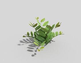 Low poly Plant 3D model realtime