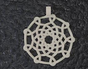 Celtic Knot Pendant 02 3D printable model