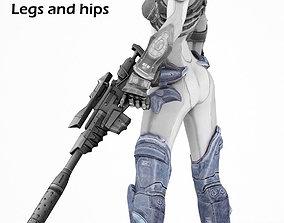 Nova legs from Starcraft HOTS 3D cosplay model lynnfield