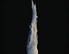 3D model Smoke 1 folume