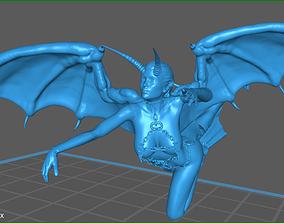 3D model Succubus Demon Flyby