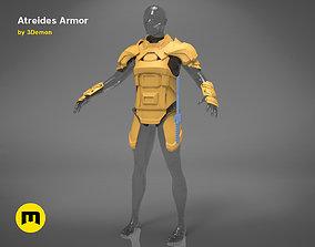 3D print model Atreides armor