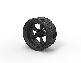 Diecast Sport wheel 3 3D print model