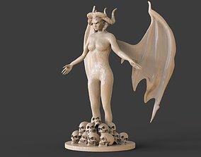 Demon Woman 3D printable model