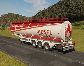 3D Petrol Tank
