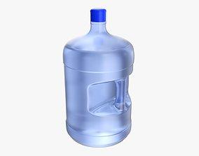 Drinking water bottle large 3D model
