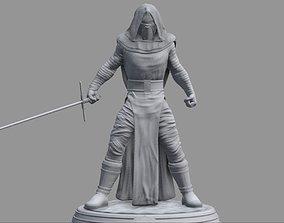 Star Wars - Kylo Ren Sith Lord 3D Print Diorama