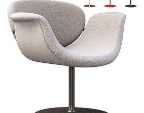 3D asset Tulip Midi chair disk by Artifort