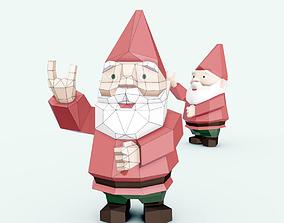 Garden gnome deco 3D
