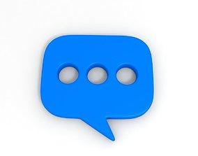 Message Symbol 3D model