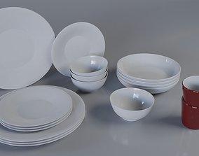 food Dining set 3D PBR