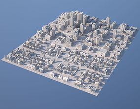 3D asset Karton City 2