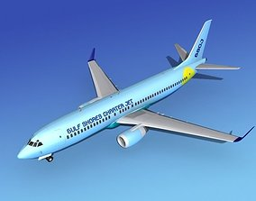 Boeing 737-800 Gulf Shores Charter 3D