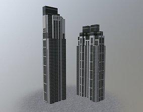 3D model London Pan Peninsula