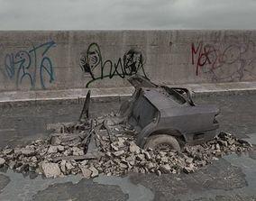 3D model rubble 072 am165