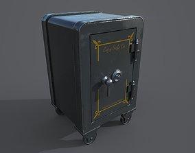 3D asset Old safe