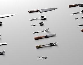 Echise Bruno - Cutlery set 3D