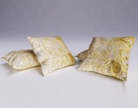 Contemporary Cushion 3D model pillow