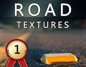 3D model ROAD Textures Pack HD