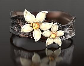 Vanilla coffee enamel ring 3D print model