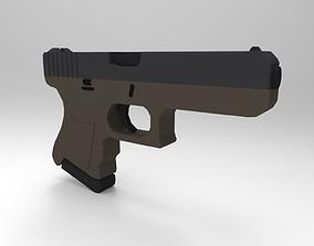 Glock-18 3D asset