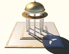 3D model Rotunda rotunda