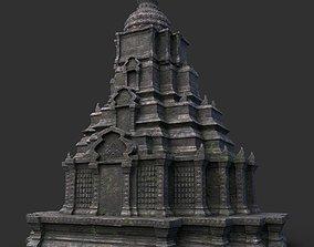 3D model Ruin Ancient Temple - Khmer Architecture B 11