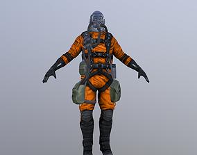3D asset Bioreign Pilot suit