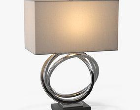 3D model Uttermost Soroca Silver Rings Lamp
