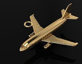 Jet Airplane pendant 3D printable model