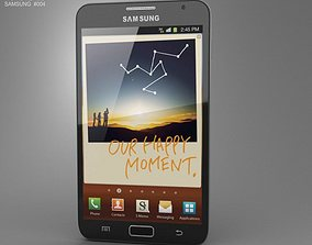 Samsung Galaxy Note 3D asset