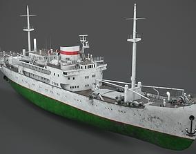 Old vessel 3D model