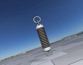 3D asset Electricity Poles Insulator 5 - Object 076