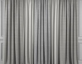 Curtain Set 343 3D model