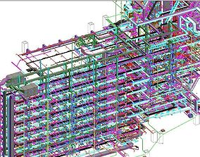 Revit MEP All System Project Model engineering