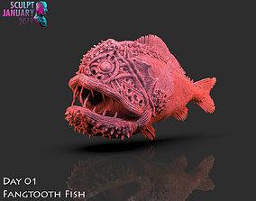 3D print model Fangtooth Fish